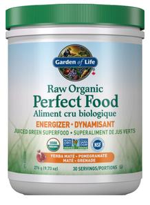 Garden of Life Raw Organic Perfect Food Energizer Powder Yerba Mate/Pomegranate 276g | 886866001180