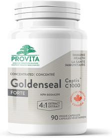 Provita Nutrition & Health Immune Health Goldenseal Coptis C 1000 - 90 Veggie Capsules | 832927001538