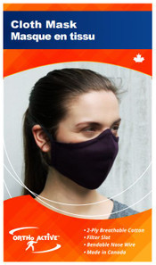Ortho Active Cloth Face Mask for Adults - 1-Pack