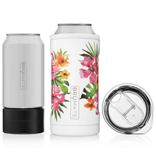 BrüMate Hopsulator TRíO 3-in-1 (12oz/16oz Can) - Hibiscus (Limited Edition)