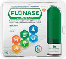 Flonase Allergy Relief Nasal Spray - 60 Doses | 060815134000