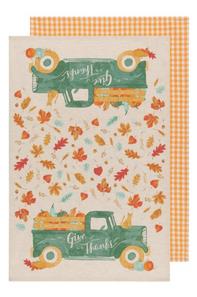Now Designs Autumn Harvest Dishtowels Set of 2