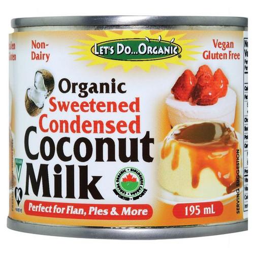 Let's Do...Organic Sweetened Condensed Coconut Milk Gluten ...