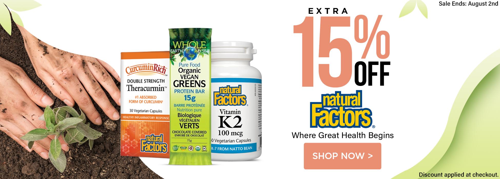 natural factors supplements sale