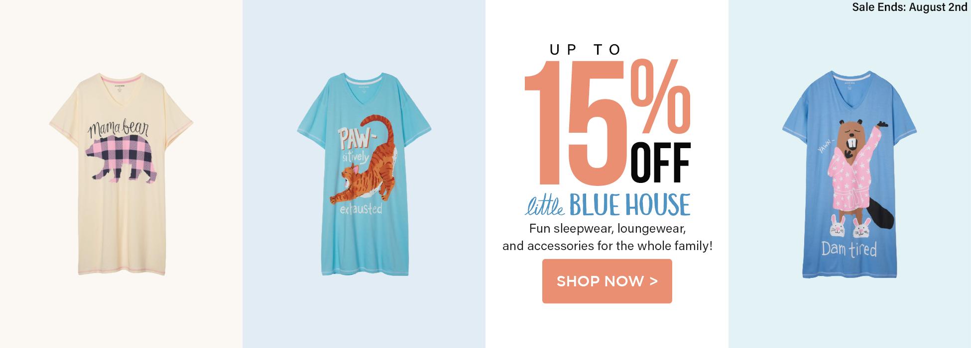little blue house sale fun sleepwear loungewear accessories