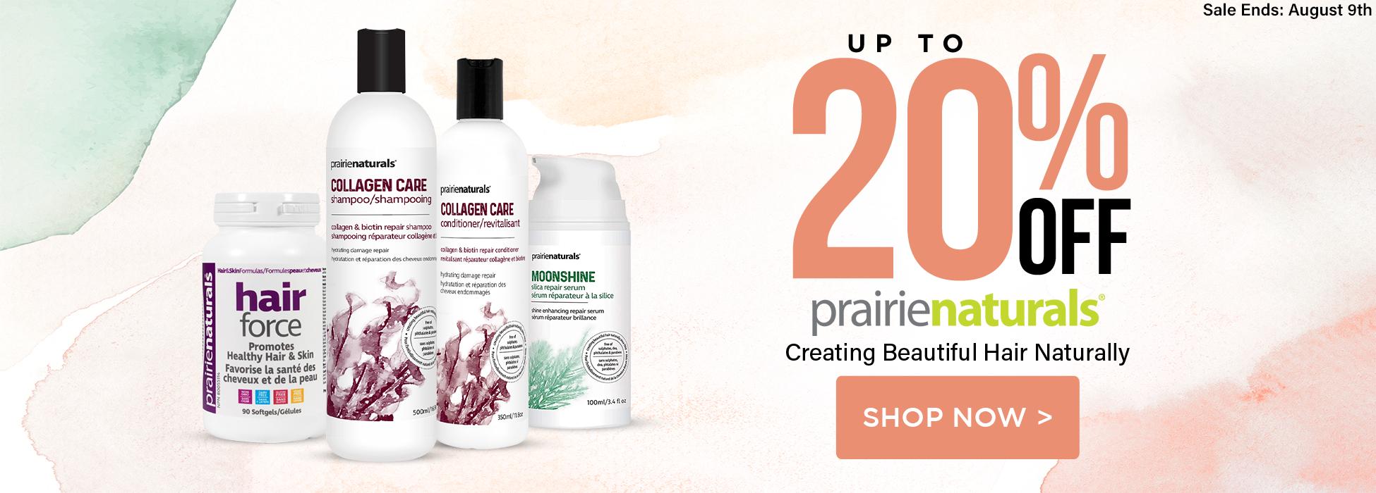 prairie naturals sale hair force collagen shampoo