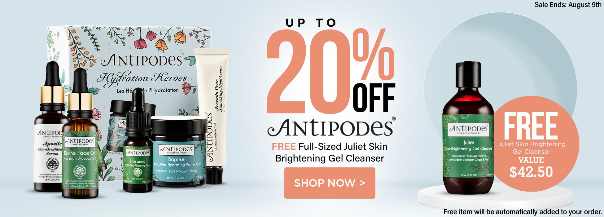 antipodes sale skin care