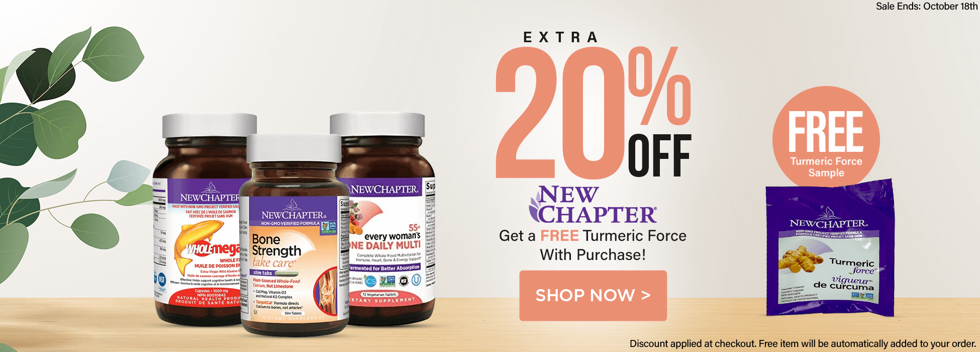 New Chapter sale multivitimin canada omega supplement