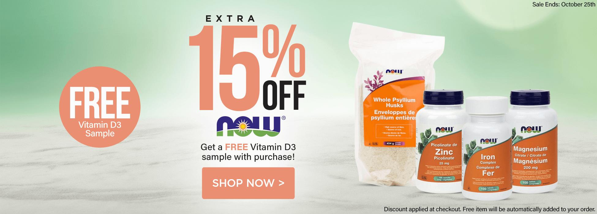 NOW Foods, Vitamins, Supplements, Essential Oils Sale