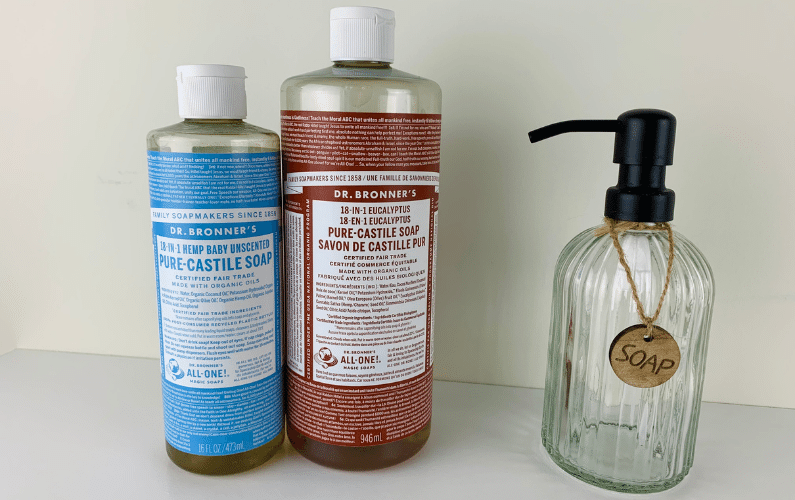 3 Easy Ways to Use Dr. Bronner's Castile Soap