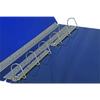 "Ruby Paulina 24x18 - Binder 2"" Angle-D Ring Acrylic (Blue) (917120)"
