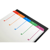 11x17 Multi Colored 5 Tabbed Numbered from 1 to 5 Dividers (10 per Package)