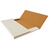 """11x17 White Mailer box shown with 11"""" x 17"""" paper"""