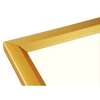 11x17 Wood Picture Frame - Gold Wrapped