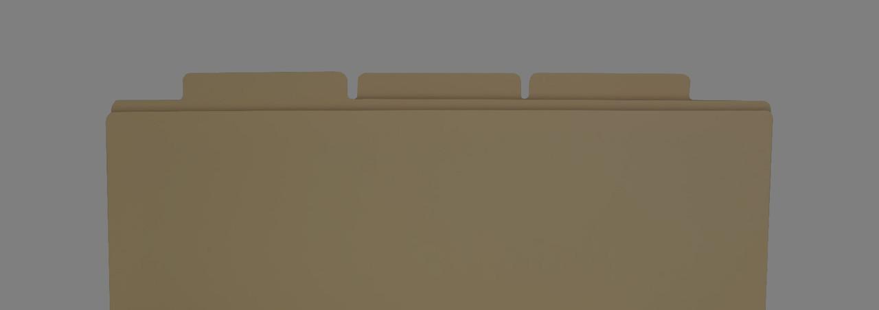 11x17 manila file folders
