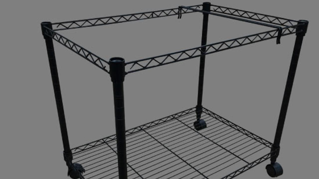 File cart for 11x17 hanging file folders