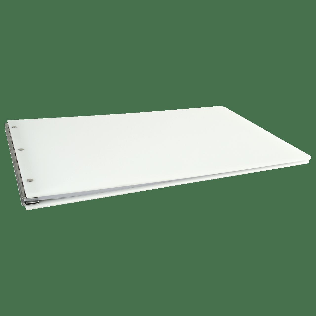 11x17 Binder Screw Post Acrylic Aluminum Hinge Black