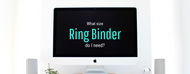Ring Binder Sheet Capacity. Find ring size by the page count