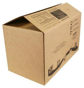 Shipping Box 21.5 x 12 x 13 Corrugated Brown