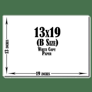 13x19 White Copy Paper (450 Sheets per Ream)