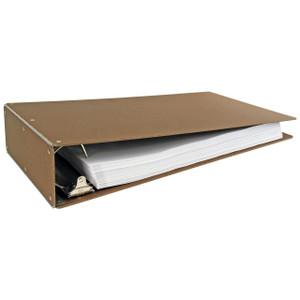 "11""x17"" Hardboard Aluminum Hinge Binders (515461)"