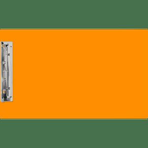 "11x17 Clipboard Acrylic Panel Featuring an 8"" Hinge Clip Orange (540150)"