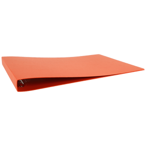 """13x19 Binder Poly Panel Featuring a 1"""" Angle-D Ring Orange"""