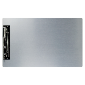 """11x17 Aluminum Clipboard with 8"""" Hinge Clip"""
