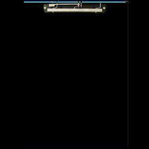 "13""x19"" Clipboards (846110) Black"