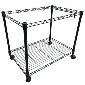 11x17 Black Rolling File Cart