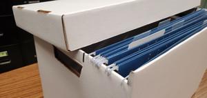 New 11x17 Vertical File Storage Box (561103)