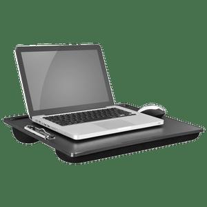 11x17 Lap Desk Clipboard Featuring a Low Profile Clip Black (45104)