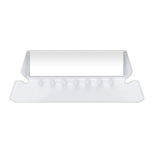 """Pendaflex Insertable Plastic Tabs Hanging Folder Tabs, 2"""", Clear, 25 Tabs and Inserts per Pack (42)"""