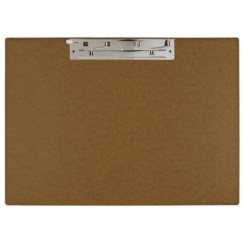 """17x11 Clipboard Vinyl Fold-over Panel Featuring an 11"""" Hinge Clip Blue"""