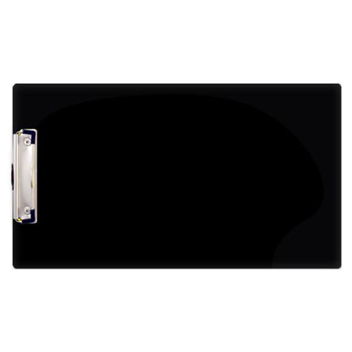 8.5x14 Black Acrylic Clipboard (344110)