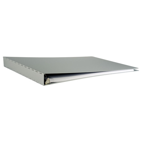 """11x17 Binder Aluminum Panel Featuring a 1"""" Angle-D Ring"""