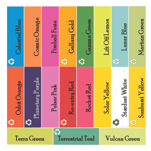 11x17 Vulcan Green Cover Stock (250 Sheets per Ream)