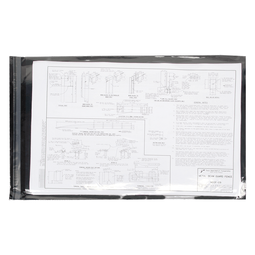 Ruby Paulina 11x17 Resealable Clear Envelopes (562600)