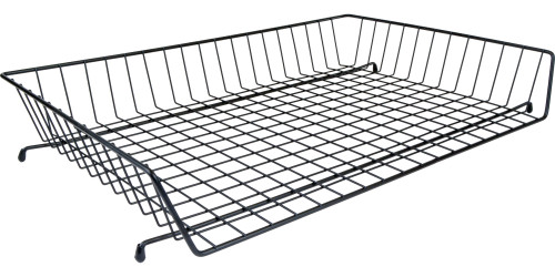 """11""""x17"""" Wire Baskets (585010) Black Coated"""