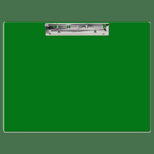 "17x11 Clipboard Acrylic Panel Featuring an 11"" Hinge Clip Orange"