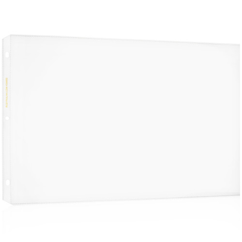 "11x17 Sheet Protector Poly with holes on 11"" side 556600"