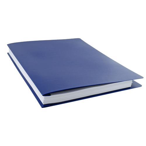 Ruby Paulina 17x11 Report Cover Poly (Blue) (626620)