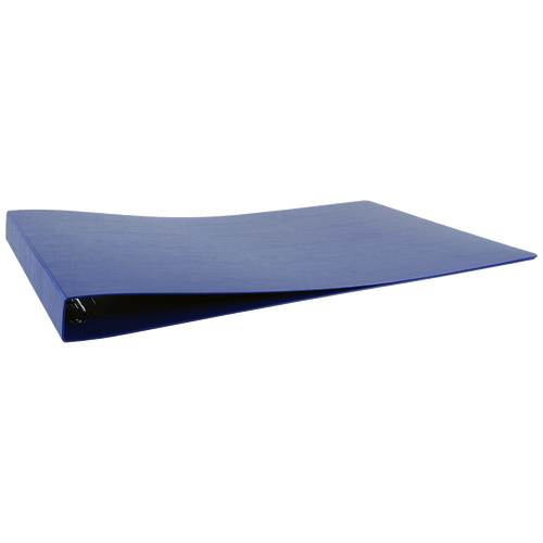 """13x19 Binder Poly Panel Featuring a 1"""" Angle-D Ring Blue"""