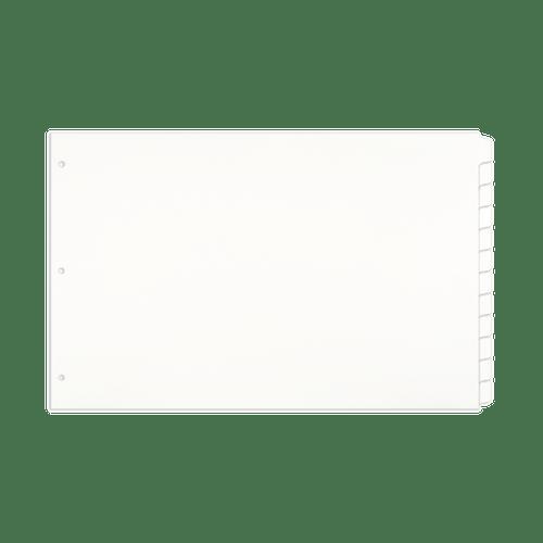 11x17 Index Tab Dividers  (5 Tab Bank Set Shown) (590806)