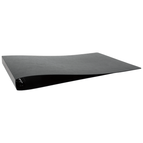 """13x19 Binder Poly Panel Featuring a 1"""" Angle-D Ring Black"""