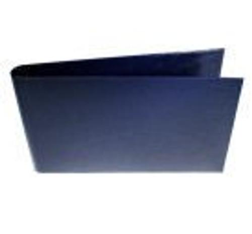 "DISCONTINUED 11x17 1"" Straight-D Ring Binder (Palermo Guanti - Dark Blue)"