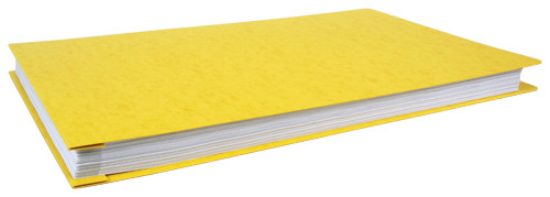 Manufactured Seconds 11x17 Poly Report Cover Binder -Yellow Package of 6 (526640-MS)