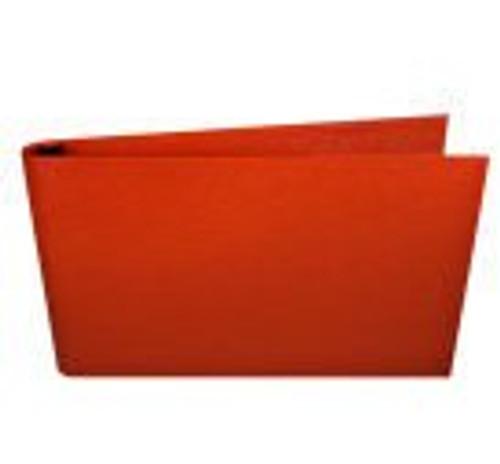 "DISCONTINUED 11x17 1"" Straight-D Ring Binder (Palermo Guanti - Orange)"