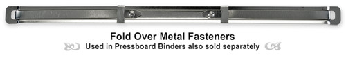 Fold Over Metal Fasteners (20 per Pack)