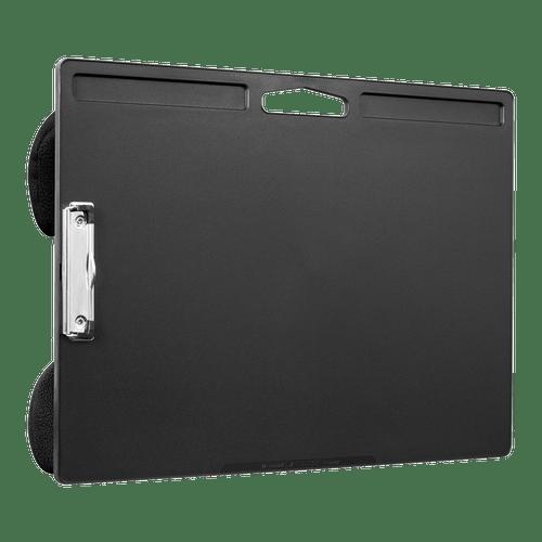 17x11 Lap Desk Clipboard  Featuring a Low Profile Clip Black (45104)